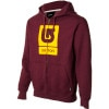 Logo Vertical Full-Zip Hoodie - Men's