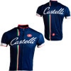 Castelli Podium Collection - Ganna Navy Jersey - Short-Sleeve - Men's