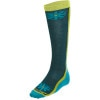 Merino Wool Knee High Flower Power Light Sock - Women's