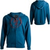 Electric Volt Type Basic Full-Zip Hooded Sweatshirt - Men's
