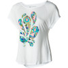Peacock Hoot Raglan T-Shirt - Short-Sleeve - Women's