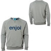 Enjoi No Joke Custom Crew Sweatshirt - Men's