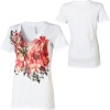 Ezekiel Winter Bouquet V-Neck T-Shirt - Short-Sleeve - Women's