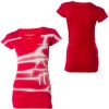 Hurley Sideways YC V-Neck T-Shirt - Short-Sleeve - Women's