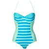 Hurley Surfside Stripe One-Piece Swimsuit - Women's