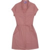 Herringbone Snap Dress - Women's