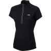 Run Quest Zip Shirt - Short-Sleeve - Women's
