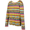 Meta Stripe Crew Sweatshirt - Women's