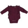 Ruffle Tab Body Suit - Long-Sleeve - Infant Girls'