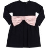 Bow Dress - Long-Sleeve - Toddler Girls'