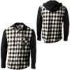 KR3W Wallens Hooded Flannel Shirt - Long-Sleeve - Men's