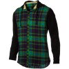 Static Age Hooded Flannel Shirt - Long-Sleeve - Men's