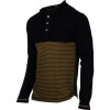 Black Ops Hooded Henley Shirt - Long-Sleeve - Men's