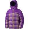 Guides Down Plaid Hooded Jacket - Girls'
