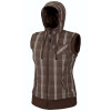 Rugia Plaid Vest - Women's