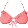 Roxy Stop And Glow Solid Angel Bra Bikini Top - Women's