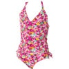 Daisy Gypsy Halter Tiki Tri Tankini Swim Set - Little Girls'