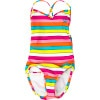 Caliente Sun Cross Over Monokini One-Piece Swimsuit - Girls'
