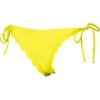 Sun Dancer Scalloped Brazilian String Bikini Bottom - Women's