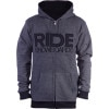 Heathered Full-Zip Hoodie - Men's