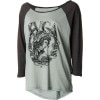 RVCA Lady Profile T-Shirt - 3/4-Sleeve - Women's