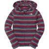Striped Glacier Full-Zip Fleece Hooded Jacket - Girls'