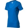 Crinkled V-Neck Shirt - Short-Sleeve - Women's