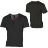 Volcom Relative Deep-V Henley T-Shirt - Short-Sleeve - Men's