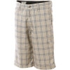 Frickin Plaid Chino Short - Boys'