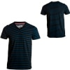 Volcom Stripe On V-Neck T-Shirt - Short-Sleeve - Men's