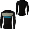 Volcom Blurry Stripe Thermal Waffle T-Shirt - Long-Sleeve - Men's