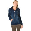 Volcom Fortune Denim Look Full-Zip Sweatshirt - Women's