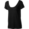 Stone Splice Scoop Back Top - Short-Sleeve - Women's