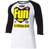 Pure Fun Raglan T-Shirt - 3/4-Sleeve - Men's