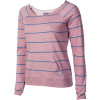 Moclov Striped Crew Sweatshirt - Women's