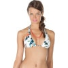 Vco Sea Turtle Reversible Halter Bikini Top - Women's