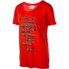 Ethno Overlay T-Shirt - Short-Sleeve - Women's