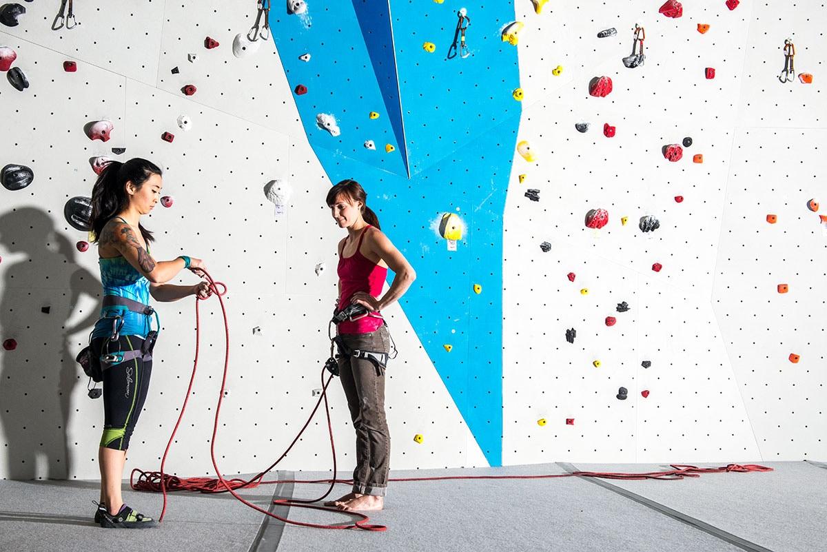 Retraced Figure Eight at Momentum Climbing Gym, UT