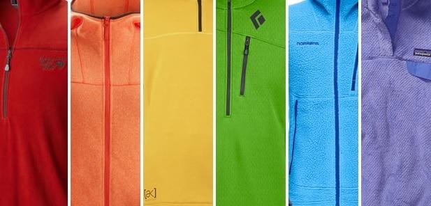 fleece rainbow